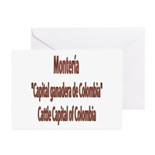 Monteria frases colombianas Greeting Cards (Packag