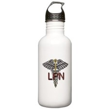 LPN Medical Symbol Water Bottle