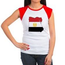 Flag Map of Egypt Tee