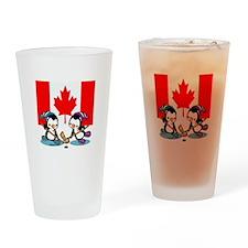 Ice Hockey (Canada) Drinking Glass