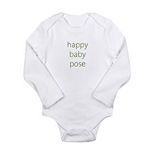 Unique Happy baby Long Sleeve Infant Bodysuit