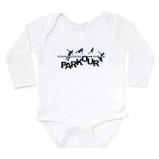 parkour3.jpg Long Sleeve Infant Bodysuit