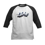 Parkour Kids Baseball Jerseys
