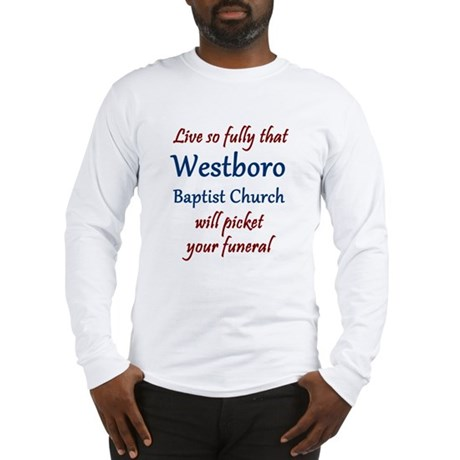 Westboro #12 Long Sleeve T-Shirt