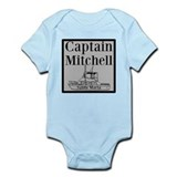 Personalized Captain Infant Bodysuit