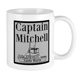 Personalized Captain Coffee Mug