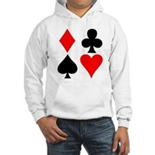 Playing Card Suits Jumper Hoody