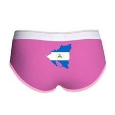 Nicaragua Flag and Map Women's Boy Brief