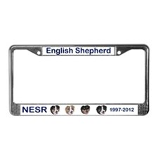 15th Anniversary License Plate Frame