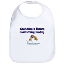 Grandma's Future Swimming Buddy Bib