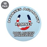 10-Pack DAR &amp;quot;Horses Against Romney&amp;quot; Butt