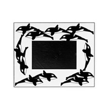 Twelve Orcas Picture Frame