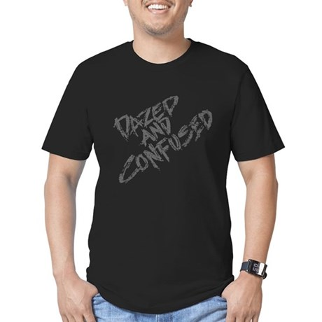 Dazed and Confused Men's Fitted T-Shirt (dark)