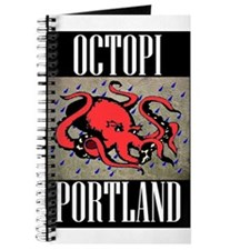 Octopi Portland (rainy version) Journal