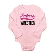 Future Wrestler Long Sleeve Infant Bodysuit
