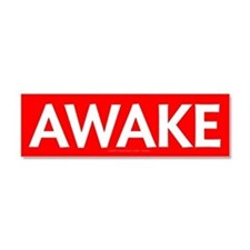 Awake Car Magnet 10 x 3