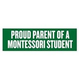 Montessori Parent Car Sticker