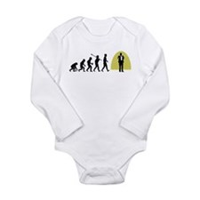 Stand-Up Comedian Long Sleeve Infant Bodysuit