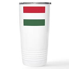 Flag of Hungary Travel Mug