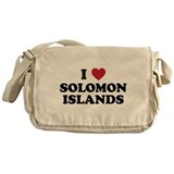 I Love Solomon Islands Messenger Bag