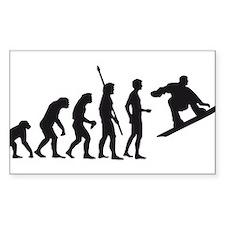 evolution snowboard Decal