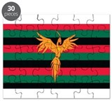 Aboriginal Moabite Nation Flag Puzzle