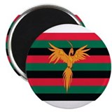 "Aboriginal Moabite Nation Flag 2.25"" Magnet (100 p"