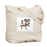 Moosey MOOSE / I Heart Moose Tote Bag