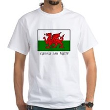 Shirt with Welsh Flag