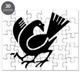 Three Legged Crow Puzzle
