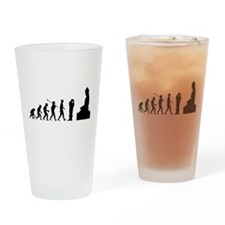 Buddhist Drinking Glass