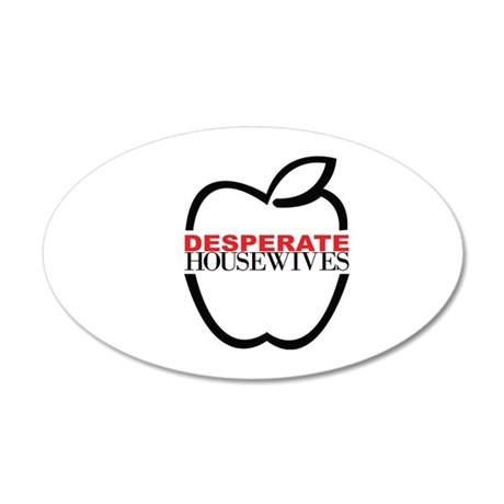 Desperate housewives 38.5 x 24.5 Oval Wall Peel