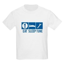 Eat Sleep Tune Kids T-Shirt