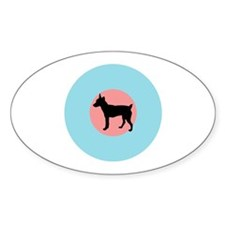 The Low-Vis Oval Decal