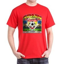 Spain Espana European Soccer 2012 T-Shirt