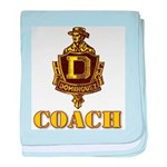 Dominguez High Coach baby blanket