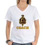 Dominguez High Coach Women's V-Neck T-Shirt
