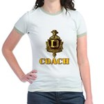 Dominguez High Coach Jr. Ringer T-Shirt