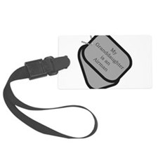 My Granddaughter is an Airman Luggage Tag