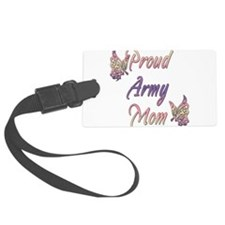 proudarmymombutterfly.png Luggage Tag