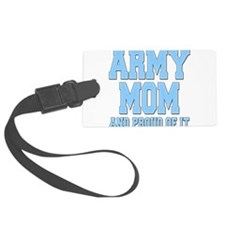 Cute Army mom Luggage Tag