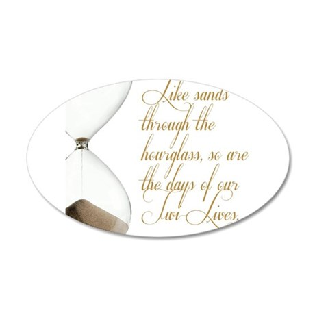 Days of our Twi-Lives 20x12 Oval Wall Decal