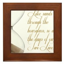 Days of our Twi-Lives Framed Tile