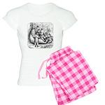 Black Bear Family Women's Light Pajamas