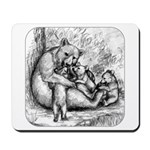 Black Bear Family Mousepad
