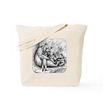 Black Bear Family Tote Bag