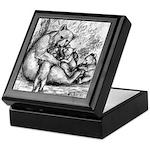 Black Bear Family Keepsake Box
