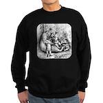Black Bear Family Sweatshirt (dark)