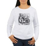 Black Bear Family Women's Long Sleeve T-Shirt