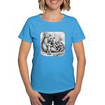 Black Bear Family Women's Dark T-Shirt